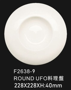 ROUND BOWL飛碟碗9""